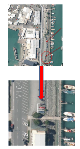 location of containers